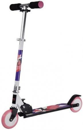 Самокат двухколёсный X-Match WOW Animals 125 мм фиолетово-розовый 641101 x match самокат cute