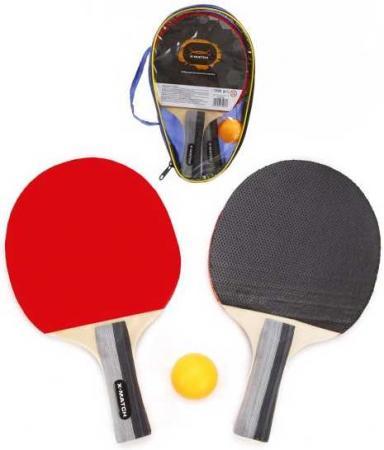 Набор д/наст.тенниса X-Match, чехол x match набор x match для настольного тенниса