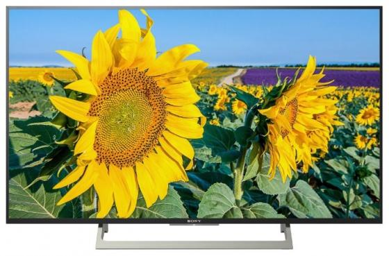 "Телевизор 49"" SONY KD-49XF8096 черный 3840x2160 50 Гц Wi-Fi Smart TV RJ-45 Bluetooth цена и фото"