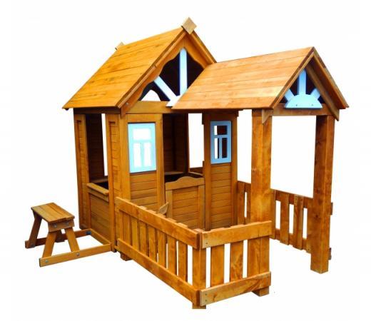 Игровой домик Можга Детский Солнечный с верандой (Р910-Р931)