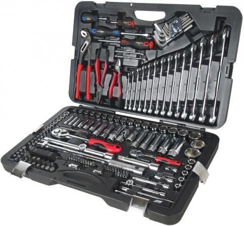 Набор инструментов JTC H145C 1/4 и 1/2 6-гранный в кейсе 145пр.