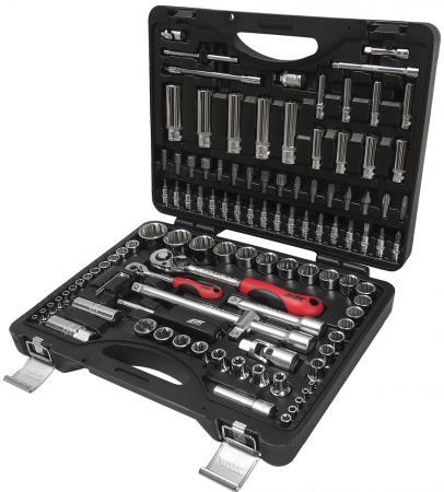 Набор инструментов JTC T110B-B72 1/4 и 1/2 12-гранных в кейсе 110пр. набор инструментов jtc s110b b72
