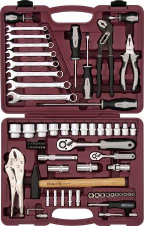Набор инструментов THORVIK UTS0072 универсальный 1/4 1/2DR 72 предмета