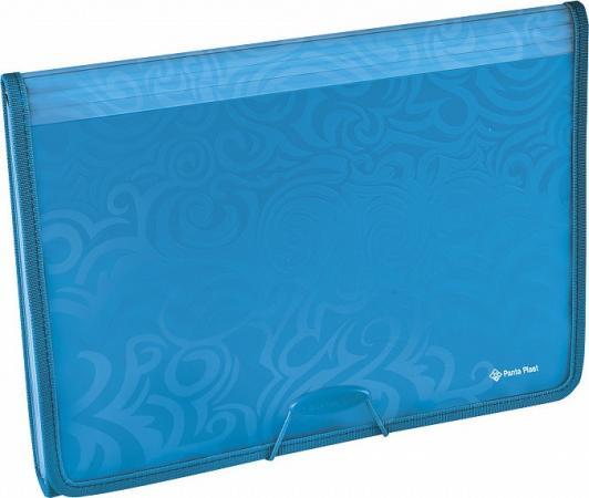 Папка для проектов Leitz Wow А4, до 200 листов,6 отделений,полипропилен, синий вкладыш уголок с перфорацией leitz combifile ф а4 5 шт 200 мкм синий 47260035