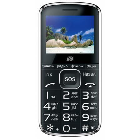 Мобильный телефон ARK Power F1 32Mb черный моноблок 2Sim 2.4 240x320 0.3Mpix BT GSM900/1800 MP3 FM microSD max8Gb мобильный телефон рация защищенный texet tm 515r