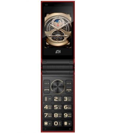 цена на Мобильный телефон ARK Benefit V2 красный 2.8 32 Мб