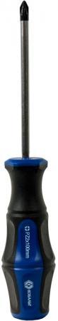 Отвертка КОБАЛЬТ 646-416 Ultra Grip PZ-2 х 100мм CR-V, двухкомпонентная рукоятка 1шт подвес