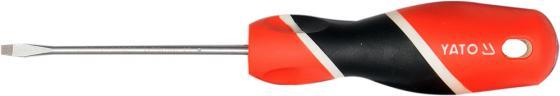 Отвертка YATO YT-25900 шлицевая SL2х75мм тестер напряжения yato yt 28631