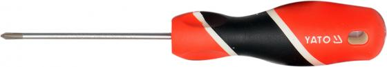 Отвертка YATO YT-25923 крестовая РН1х75мм отвертка yato yt 25900 шлицевая sl2х75мм