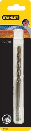 цены Сверло STANLEY STA53212-QZ Ф8x134x73мм универсальное multimaterial TCT/HM 3-х граный хвостовик