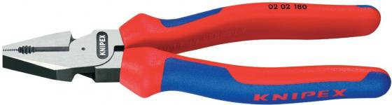 Пассатижи силовые KNIPEX 0202200 200мм с двухцветными многокомпонентными чехлами бокорезы knipex kn 1426160