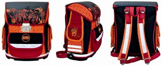 Ранец ортопедический Action! ANIMAL PLANET Тигр черный красный оранжевый рисунок AP-ASB4002/2/14 рюкзаки action ранец animal planet