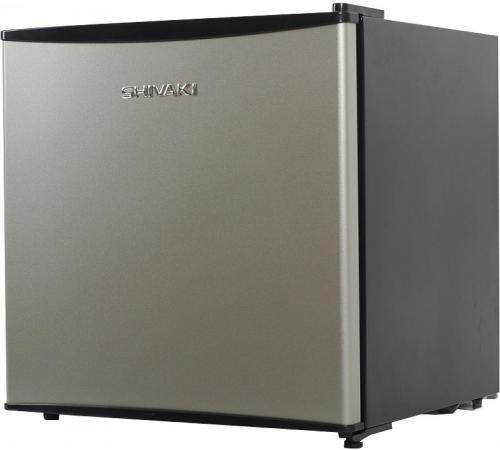Холодильник SHIVAKI SDR-054S серебристый холодильник shivaki bmr 2013dnfw двухкамерный белый
