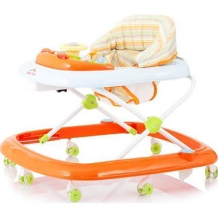 Ходунки Baby Care Flip (orange 18) ходунки baby care pilot white 18