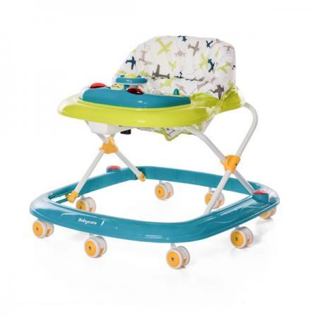 Ходунки Baby Care Flip (green 18) ходунки baby care pilot white 18