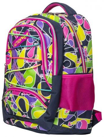 Городской рюкзак ручка для переноски Action! городской 17 л разноцветный AB11135 цена и фото