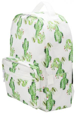 Городской рюкзак ручка для переноски Action! Кактусы 16 л зеленый белый AB11149 цена