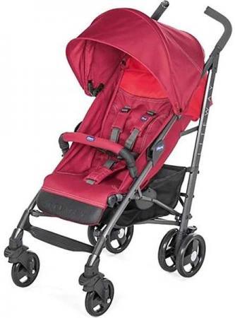 Коляска-трость с бампером Chicco Lite Way 3 Top (red berry) коляска трость с бампером chicco lite way top stroller s d denim