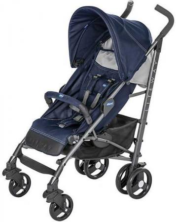 Коляска-трость с бампером Chicco Lite Way 3 Top (india ink) коляска трость с бампером chicco lite way top stroller s d denim