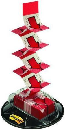 Закладки-стрелки POST-IT INDEX Мультипак, 25 мм, 200 шт, красные, на присоске закладки стрелки самоклеящиеся post it 100 шт