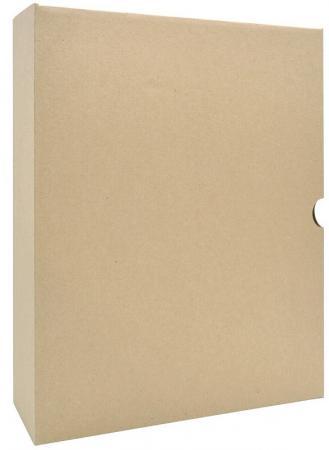 Лоток-коробка архивный, микрогофрокартон, 325 г/кв.м, 250x150x315 мм, бурый цена