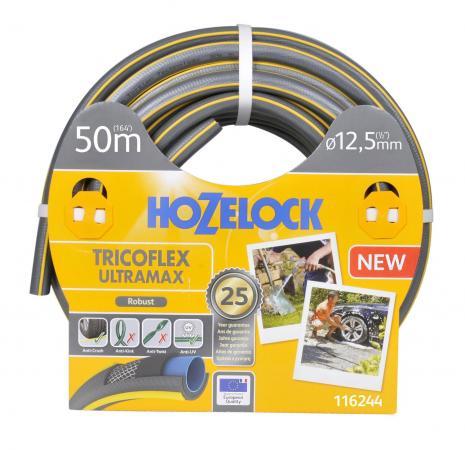 Шланг HOZELOCK 116244 TRICOFLEX ULTRAMAX 50м 1/2 пвх шланг tricoflex ultramax 3 4 25м