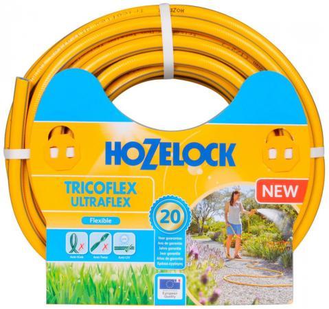 Шланг HOZELOCK 117036 TRICOFLEX ULTRAFLEX 25м 3/4 пвх цена