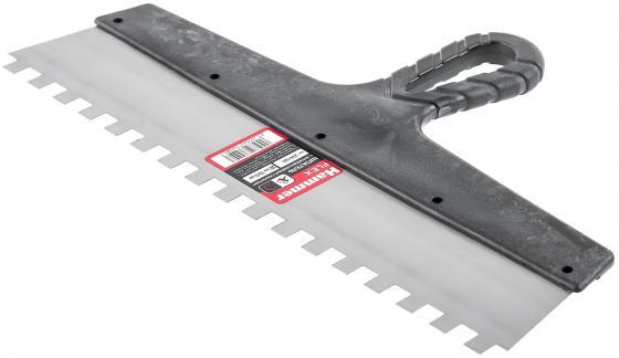Шпатель зубчатый Hammer Flex 238-017 с антикор.покр. 300 мм, 8*8 мм насос hammer flex nc25 8
