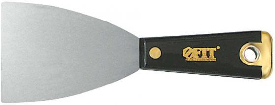 Шпатель FIT 06410 для удаления ржавчины профи с пластиковой ручкой 100мм шпатель для удаления ржавчины профи 100мм fit hq 06674