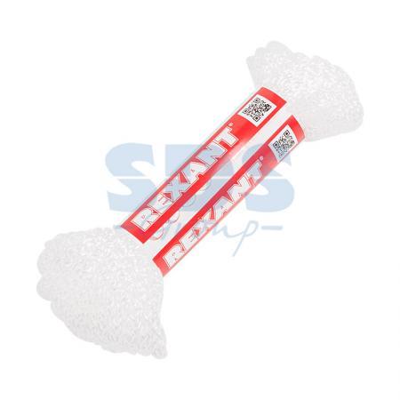 Шнур REXANT 5мм 10м (белый) шнур без сердечника 5мм 25м пп