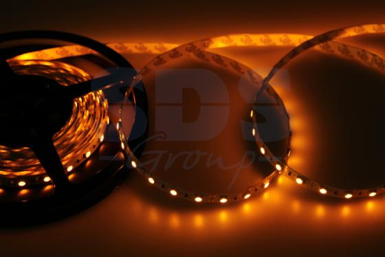 LED лента открытая, 10мм, IP23, SMD 5050, 60 LED/m, 12V, желтая jurus hot sale led 1m 2m 3meters 5m neon light car decor lamp flexible el wire rope tube waterproof strip with 12v inverter