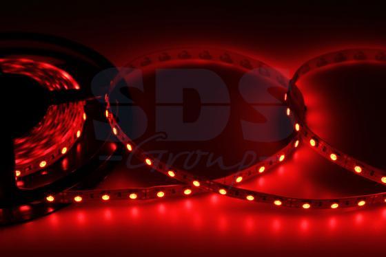 LED лента открытая, 10мм, IP23, SMD 5050, 60 LED/m, 12V, красная t10 3w 6500k 90 lumen 13 smd led car white light bulbs pair dc 12v