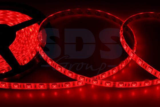 LED лента силикон, 10мм, IP65, SMD 5050, 60 LED/m, 12V, красная merdia t10 1 2w 144lm 12 smd 5050 led white light car lamps dc 12 2 pcs