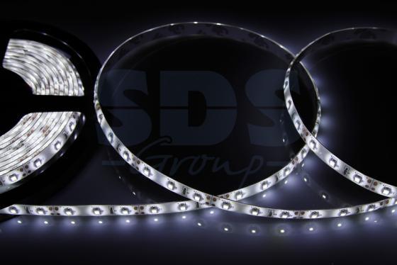 LED лента силикон, 8мм, IP65, SMD 2835, 60 LED/m, 12V, белая