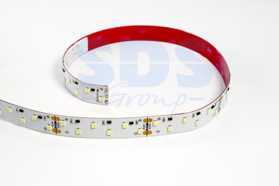 LED лента ПРОФЕССИОНАЛЬНАЯ, 16 мм, IP33, SMD 2835, 96 LED/m, 24V, белая 1157 bay15d 60w 600lm 12 led white car brake backup steering tail light 12 24v