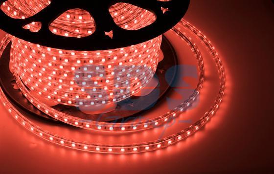 LED лента 220В, 10*7 мм, IP65, SMD 2835, 60 LED/m Красная, бухта 100 м tny278gn smd 7