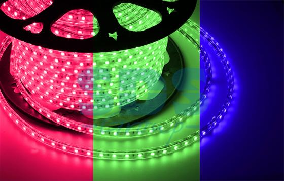 LED лента 220В, 13*8 мм, IP65, SMD 5050, 60 LED/m RGB led strip color changing 5m 5050 rgbw led light strip remote controller 12v 2a power supply rgb white indoor for decoration