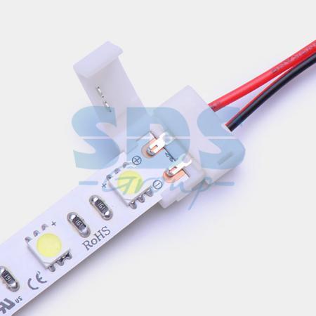 Коннектор питания (1 разъем) для одноцветных светодиодных лент шириной 10мм 10шт