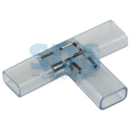 Муфта соединительная T для светодиодной ленты 220В, 6.5х15мм муфта для соединения валов shaft coupling 50 10 10 0 394 10 10 25 30 050170 coupling