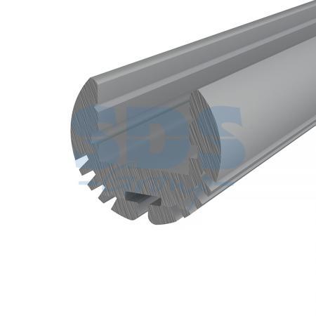 Профиль круглый алюминиевый 17-2 REXANT, 2м аксессуар rexant 17 6906