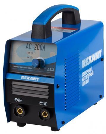 Сварочный аппарат инверторный REXANT® АС-200А сварочный аппарат foxweld корунд 200 инверторный