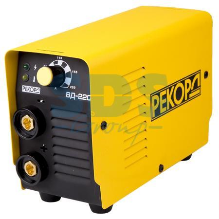 Аппарат инверторный РЕКОРД ВД-220 (220В, 20-220А) аппарат инверторный brima arc 250 220в