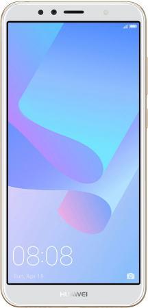 "Смартфон Huawei Y6 Prime 2018 золотистый 5.7"" 16 Гб LTE Wi-Fi GPS 3G 51092KQG цена"