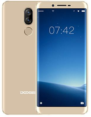 Смартфон Doogee X60L золотистый 5.5 16 Гб LTE Wi-Fi GPS 3G смартфон doogee x30 16 гб золотистый