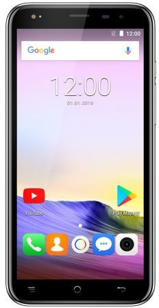 Смартфон Texet TM-5073 черный 5 8 Гб LTE Wi-Fi GPS 3G смартфон digma hit q500 3g черный 5 8 гб wi fi gps