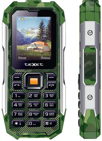 teXet TM-518R зеленый Мобильный телефон цена в Москве и Питере