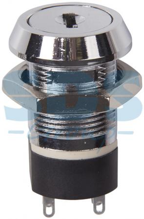 Выключатель ключ O19 250V 2А (4с) ON-ON REXANT 2 pcs single pole double throw on on toggle switch ac 250v 2a 125v 5a