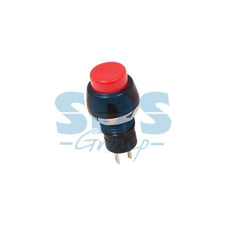 Выключатель-кнопка 250V 1А (2с) ON-OFF красная Micro REXANT 36-3070