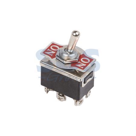 Тумблер 250V 10А (6c) ON-(ON) двухполюсный REXANT 6 pin on on toggle switches orange ac 250v 2 pcs