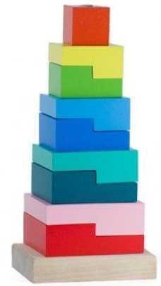 Пирамидка Ступеньки 9 дет. пирамидка ступеньки 9 дет